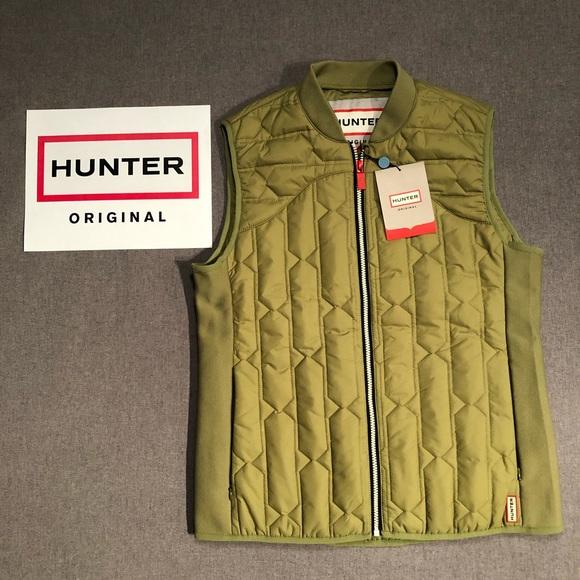 13477baa4e5fe Hunter Jackets & Coats | Original Midlayer Gilet Vest Pale Green L ...